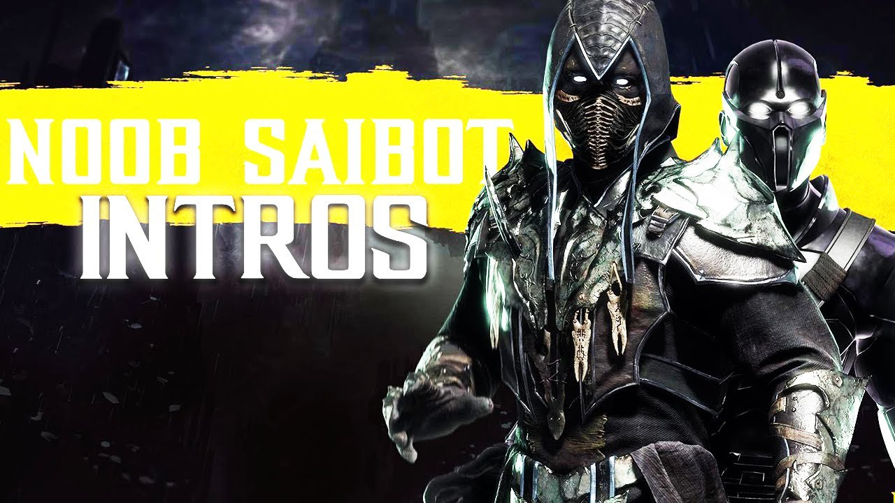 Mortal Kombat 11 ALL NOOB SAIBOT Intros (Dialogue & Character Banter) 1080p  60FPS