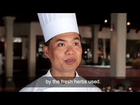 Tips of our Thai chef