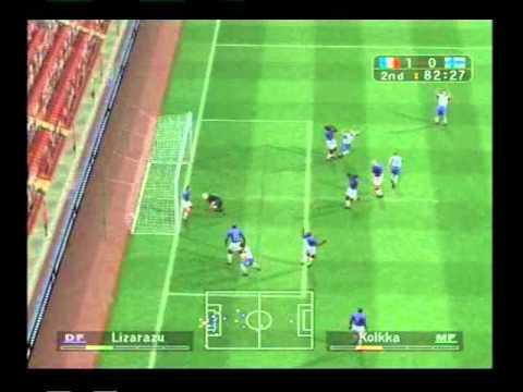 Pro Evolution Soccer 3 gameplay (PS2)