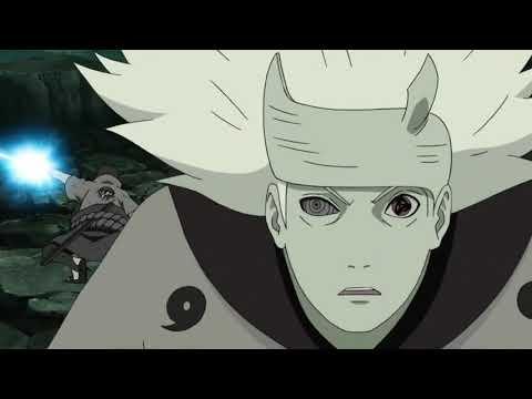 Naruto And Sasuke Vs Madara - English Dub (HD)
