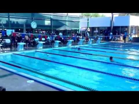 100 mts pecho Alan Copa Aniversario Casino Mexicali 2014