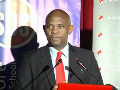 Tony Elumelu Speaking at Strathmore Business School Kenya (1 ...