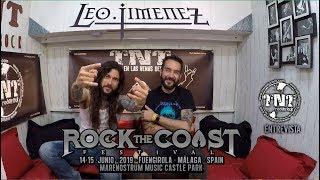 LEO JIMENEZ  - Rock The Coast 2019  - Entrevista