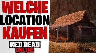 BESTE SCHWARZBRENNER HÜTTE KAUFEN - Neues Update Alle Locations   Red Dead Redemption 2 Online