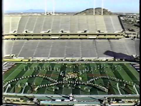 Shikellamy Marching Braves (1983 Fiesta Bowl)
