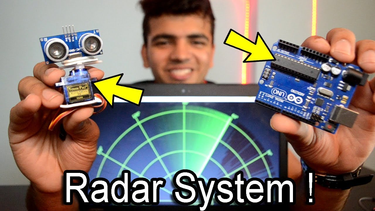 [HINDI] How To Make A Radar Using Arduino And Ultrasonic Sensor Easily At  Home | Arduino Project