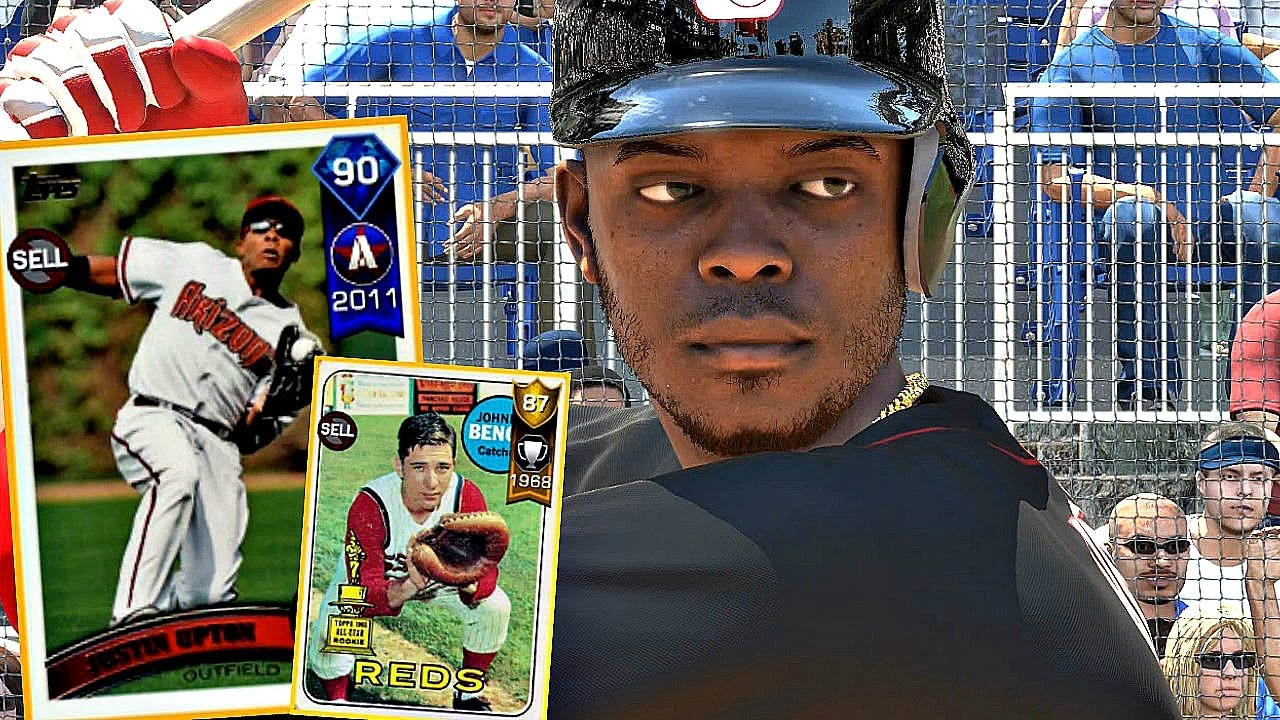 Beautiful Was Johnny Bench Gay Part - 8: FLASHBACK JUSTIN UPTON U0026 JOHNNY BENCH DEBUT! MLB The Show 17 Diamond Dynasty