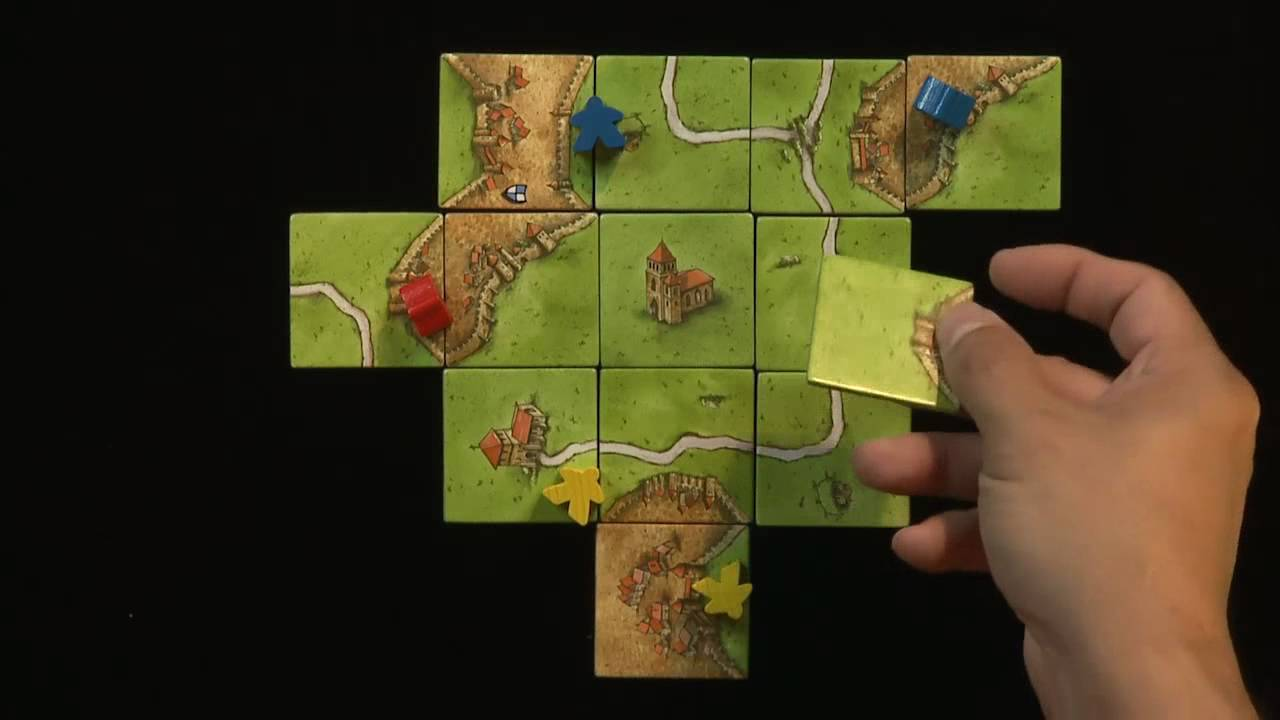 How To Play Carcassonne Pt 2 Of 2 Base Set Youtube