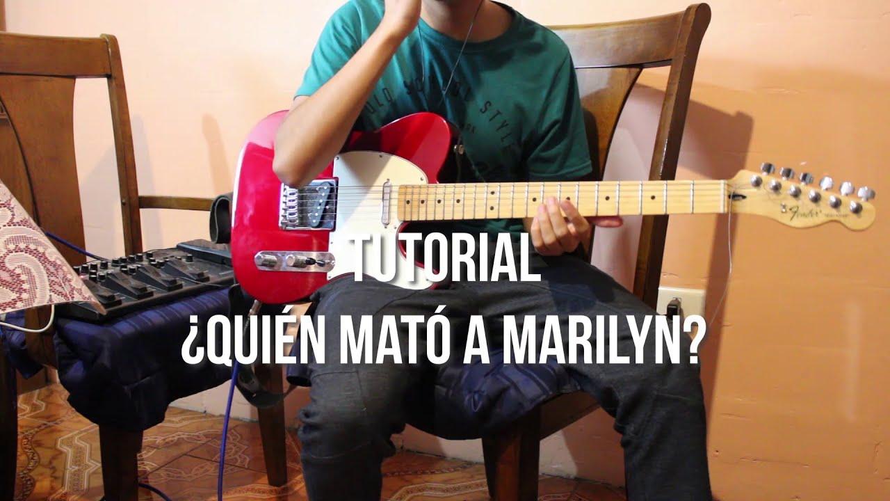 TUTORIAL ¿Quién mató a Marilyn? de Los Prisionero - Guitarra Eléctrica con TABS