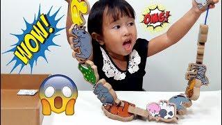 Mainan Anak Hewan Lucu dari Kayu bisa di Jahit 💖 Mengenal Nama Hewan / Binatang 💖 Let's Play Jenica