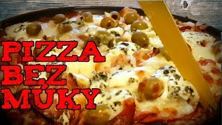 Pizza bez muky a lepku / Zdrava Low carb pizza / Ako urobit pizzu / Fitness recept / Domaca pizza /