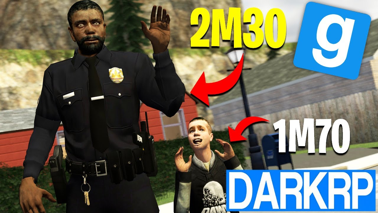 LE POLICIER GEANT ! - Garry's Mod DarkRP