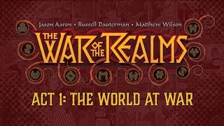 WAR OF THE REALMS Act 1 Launch Trailer | Marvel Comics