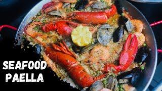 HOW TO MAKE AUTHENTIC SPANISH SEAFOOD PAELLA / PAELLA DE MARISCO / PAELLA RECIPE / EASY PAELLA