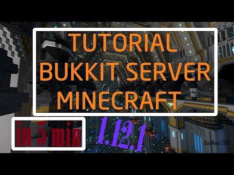 how to get a bukkit server 1.12