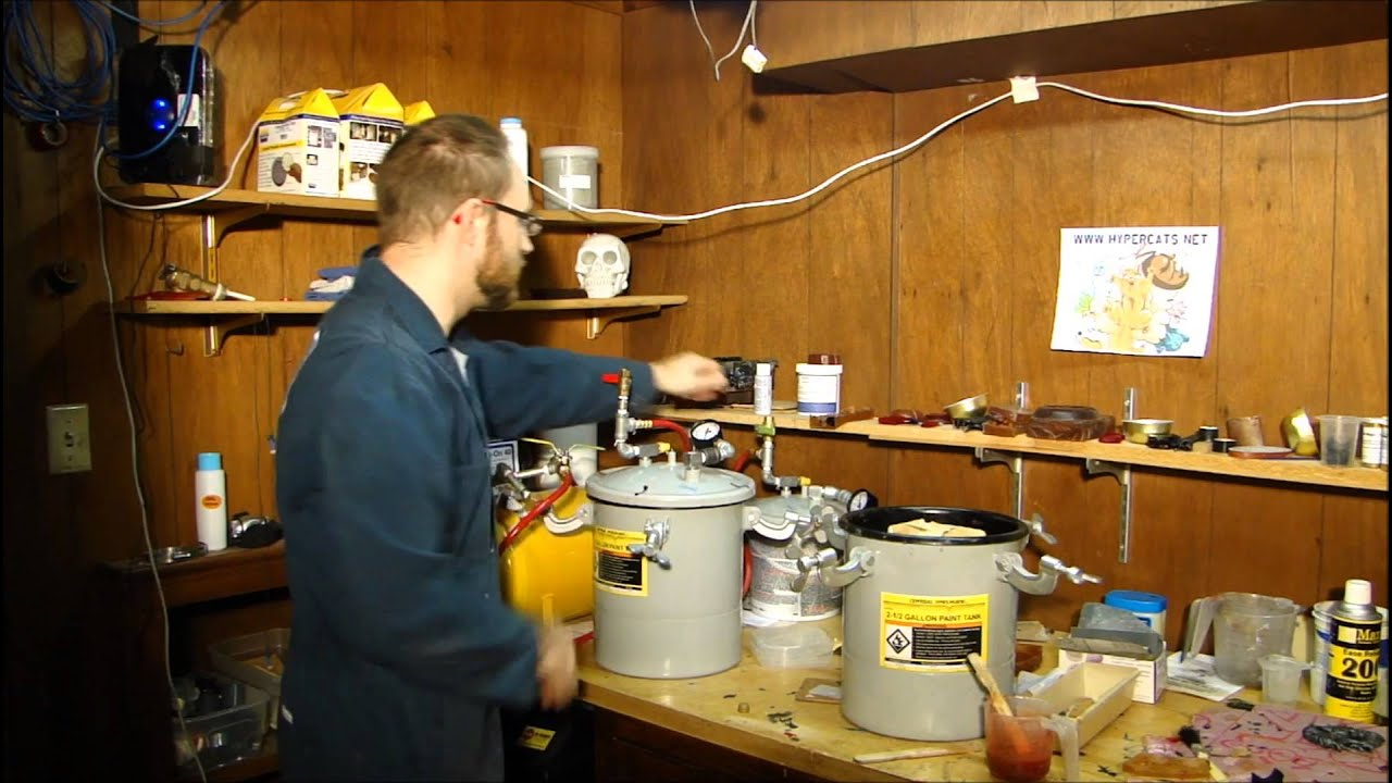 Pressure Casting Using Harbor Freight Parts Youtube