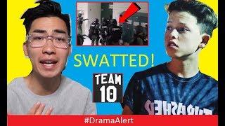 Jake Paul's Girlfriend ROASTED by RiceGum! #DramaAlert Jacob Sartorius SWATTED (Footage) W2S vs KSI!