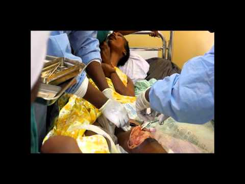 Horrific scenes at Brazzavile Military Hospital- Republic of Congo- post explosions 12th March 2012