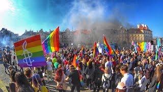 Pierwszy Marsz Równości w Lublinie.LGBT 2018.Люблин сегодня.Протест.Гей парад.Марш Равенства.ЛГБТ.#1