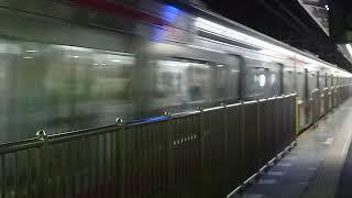 [警笛あり]京王線 8000系 特急 千歳烏山駅通過