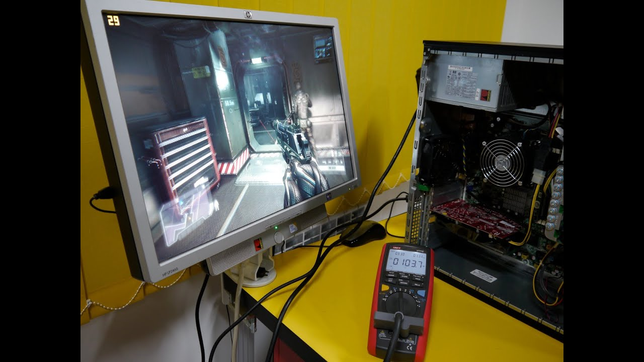 HP Elite 8000 with E8500 and HD 7770 in Crysis 3 by RMania