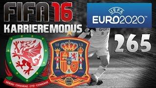 FIFA 16 Karrieremodus Part 265 [EM 2020 | Gruppenphase] Wales gegen Spanien