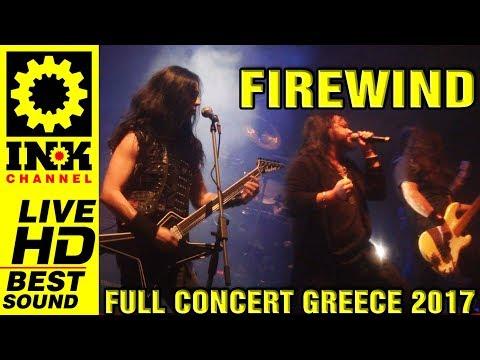 FIREWIND - Full Concert w/ RAGE [15/12/2017 Thessaloniki Greece]