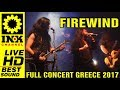 Capture de la vidéo Firewind - Full Concert W/ Rage [15/12/2017 Thessaloniki Greece]