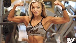 Чемпионка Мира по  Фитнесу и Бодибилдингу Тренировка для Начинающих.