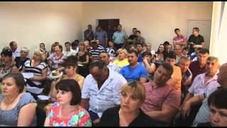 Сессия депутатов в Цюрупинске