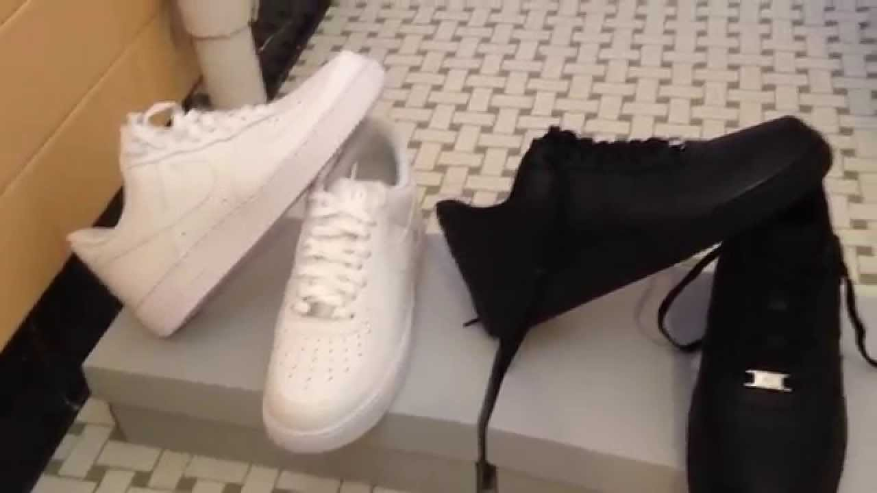 Nike Air Force 1 Low (White) Unboxing Review - YouTube d65d8f980