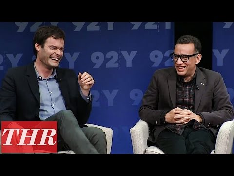 Bill Hader & Fred Armisen Obama Impression on Visiting Los Angeles