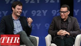 Bill Hader amp Fred Armisen Obama Impression on Visiting Los Angeles