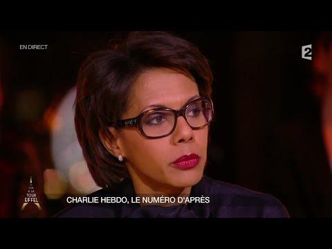 """Audrey Pulvar explique son choix de ne pas porter le badge """"Je suis Charlie"""""""
