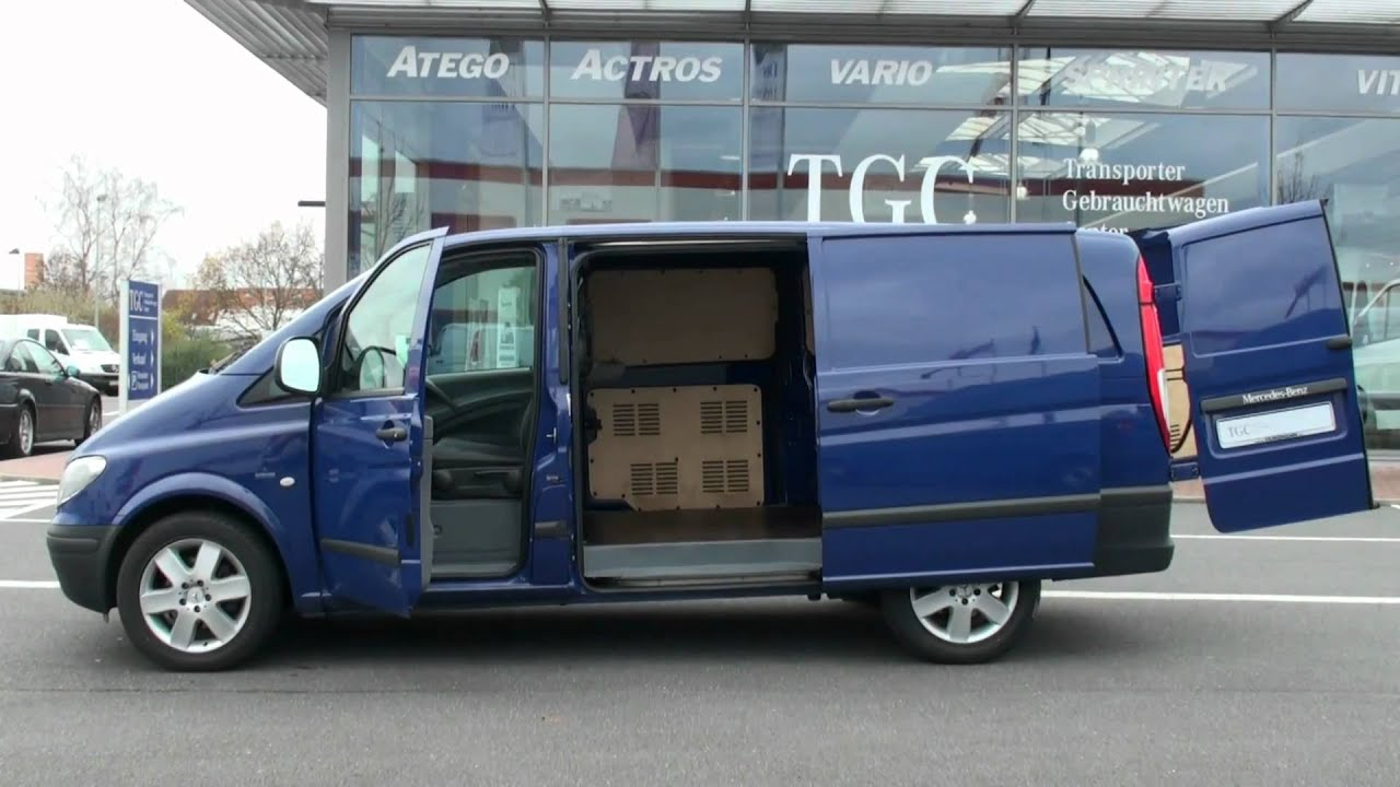 mercedes benz vito 120 cdi kastenwagen lang klimaautomatik standheizung uvm youtube. Black Bedroom Furniture Sets. Home Design Ideas