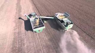 Koehler Farms Soybean Harvest 2015