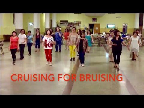 Cruising For Bruising Line Dance