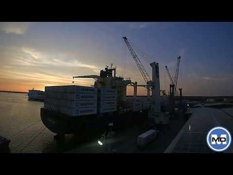 MMD (Shipping Services) Ltd. - Port Time Lapse