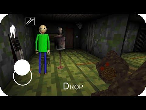 Nubi encuentra a Baldi en Granny minecraft - Nubi Granny pe juegos gratis