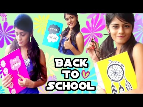 Back To School ♡ DIY Notebook Cover