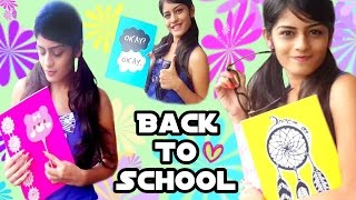 Back To School ♡ DIY Notebook Cover Thumbnail