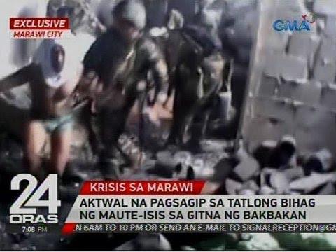 Exclusive: Aktwal na pagsagip sa tatlong bihag ng Maute-ISIS sa gitna ng bakbakan
