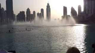 Dubai Fountain opening song