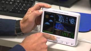 la crosse technology wireless color forecast station sku id8223 wind weather