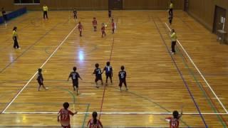 第21回バンビカップ 予選3試合目 ソレオバンビーノ 1-6 負け.