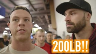 HE LOST 200LBS! | THE ARNOLD PT 2