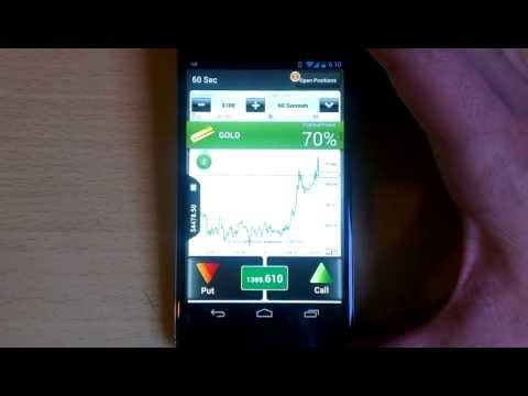 60 Seconds Binary Options Trading with Lbinarys Android app