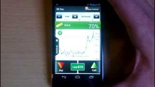 60 Seconds Binary Options Trading with Lbinary's Android app