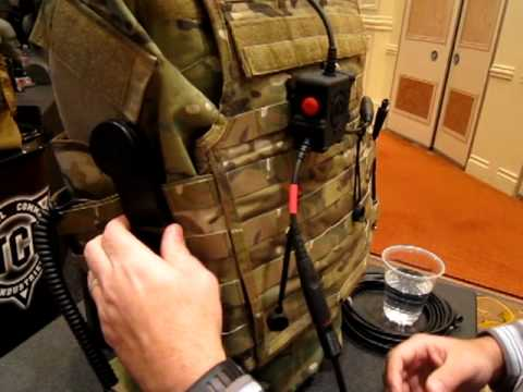 Tactical Command Industries TCI Liberator III Tactical Headset with Push-To-Talk (PTT) Button