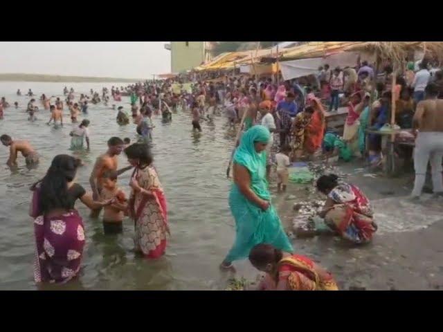 Holly Bath in Holly River Ganga Ji on Gurupurnima - Must Watch